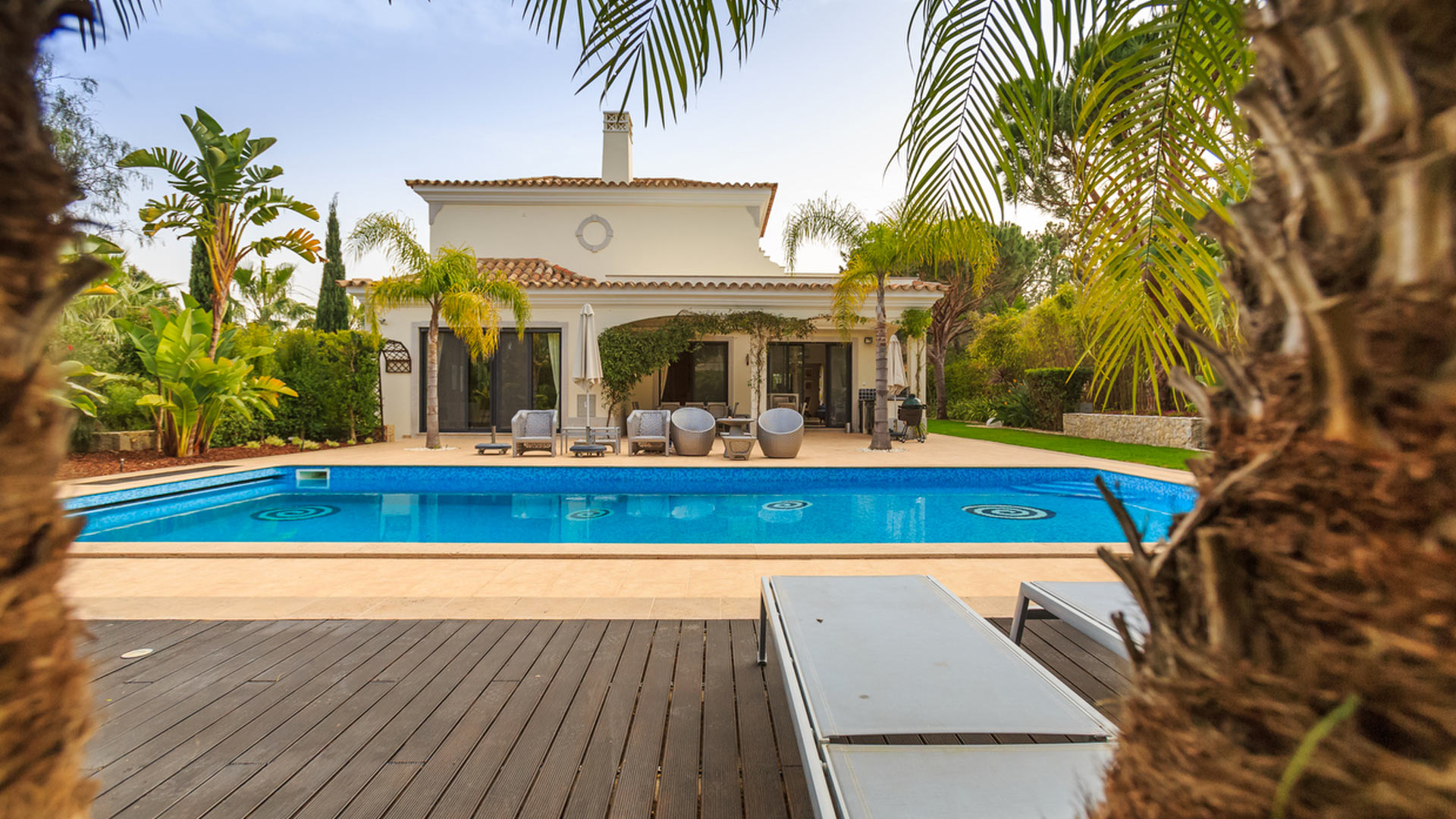 Villa Villa Blue Swirl, Rental in Algarve